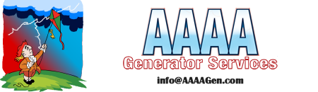 AAAA Generator Services logo - call us at 888.664.2436 or email aaaagen.com